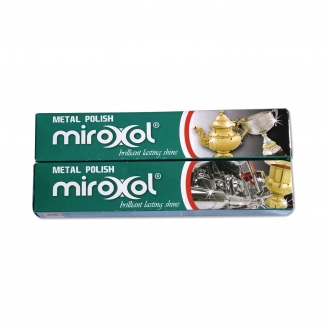 miroxol metal polish x 2 100 ml tubes